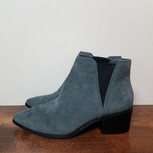 Tahari | Rowena Grey Suede Ankle Booties 6.5